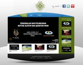 nº 36 pour Website Design for KHAAFILA.TV  and HIJRAH.TV online televisions par alimoon138