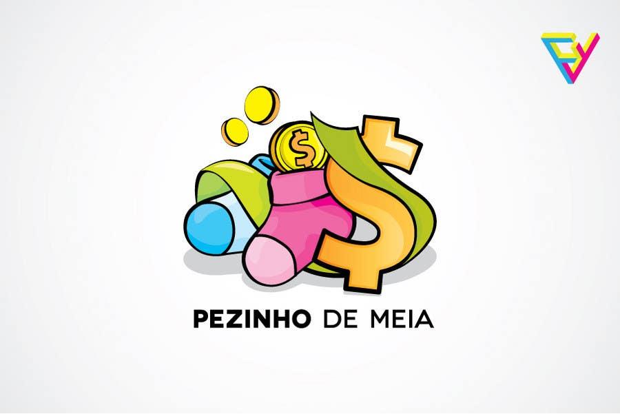 Entri Kontes #70 untukLogo Design for Pezinho de Meia (Baby Socks in portuguese)