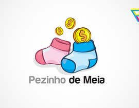 #131 for Logo Design for Pezinho de Meia (Baby Socks in portuguese) by Ferrignoadv