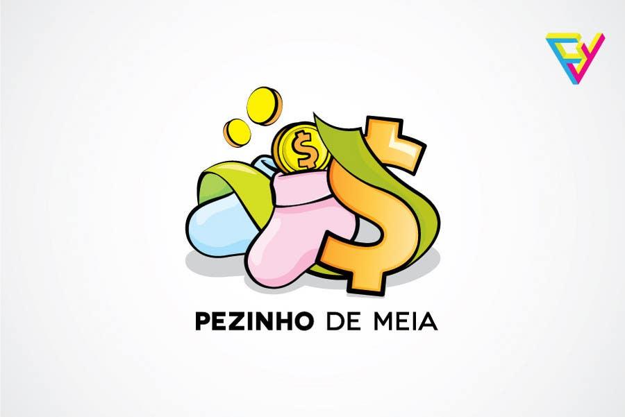 Entri Kontes #69 untukLogo Design for Pezinho de Meia (Baby Socks in portuguese)
