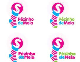 #195 for Logo Design for Pezinho de Meia (Baby Socks in portuguese) by hanief84