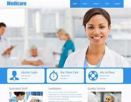 Nro 5 kilpailuun Doctor search website responsive mockup käyttäjältä neha003