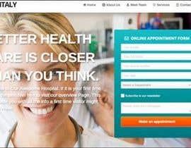 Nro 4 kilpailuun Doctor search website responsive mockup käyttäjältä CT1988