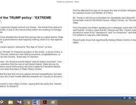 raunnayak tarafından Political Articles for US Elections için no 11