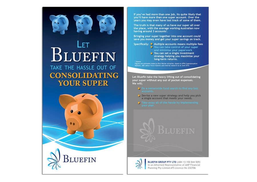 Inscrição nº                                         26                                      do Concurso para                                         Flyer Design for Bluefin