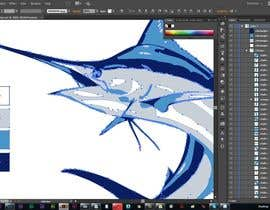 cdd1234 tarafından Illustrate 3 species of fish to be used for embroidery için no 12