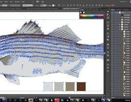 cdd1234 tarafından Illustrate 3 species of fish to be used for embroidery için no 15