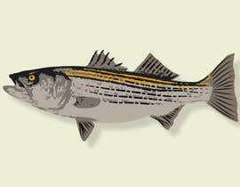 rayhananimator tarafından Illustrate 3 species of fish to be used for embroidery için no 9