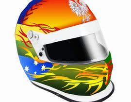 #38 для Racing Helmet design for 9 year old boy. от vishmith