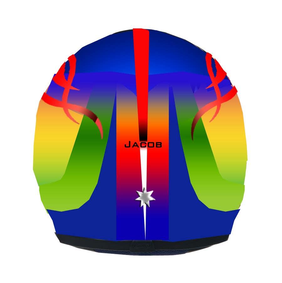 Bài tham dự cuộc thi #36 cho Racing Helmet design for 9 year old boy.