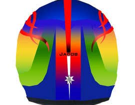 #36 para Racing Helmet design for 9 year old boy. por vishmith