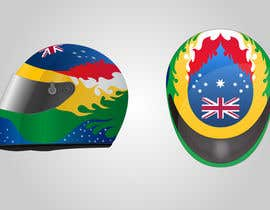 dipcore tarafından Racing Helmet design for 9 year old boy. için no 30