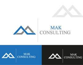 #343 for MAK Consulting Logo Design by creativeblack