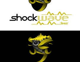 nº 135 pour Logo Design for T-Shirt Company.  ShockWave Tees par xcerlow
