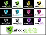 Contest Entry #160 for Logo Design for T-Shirt Company.  ShockWave Tees