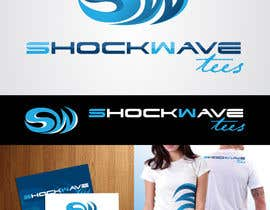 AcidicSubstance tarafından Logo Design for T-Shirt Company.  ShockWave Tees için no 147