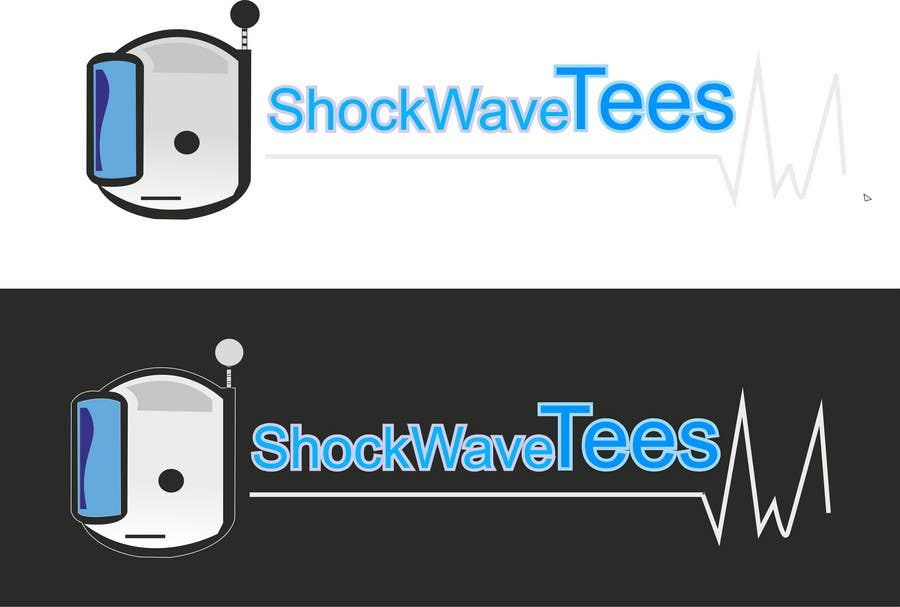 Inscrição nº 82 do Concurso para Logo Design for T-Shirt Company.  ShockWave Tees