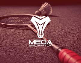georgeecstazy tarafından Design a Logo for Mega Badminton (Badminton Court) için no 15