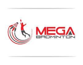 georgeecstazy tarafından Design a Logo for Mega Badminton (Badminton Court) için no 105