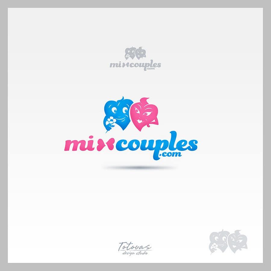 Inscrição nº                                         371                                      do Concurso para                                         Logo Design for mixcouples.com