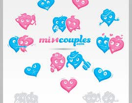 #658 for Logo Design for mixcouples.com by totovas