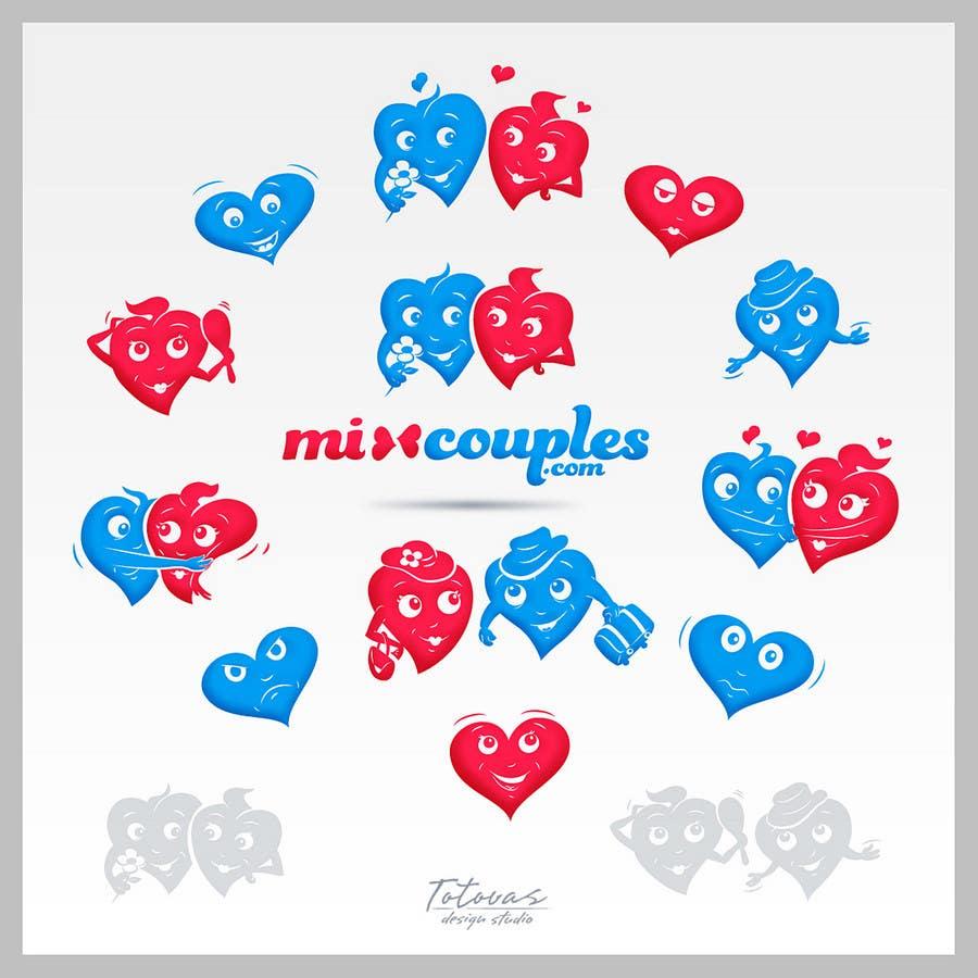 Inscrição nº                                         709                                      do Concurso para                                         Logo Design for mixcouples.com