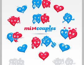 #709 for Logo Design for mixcouples.com by totovas