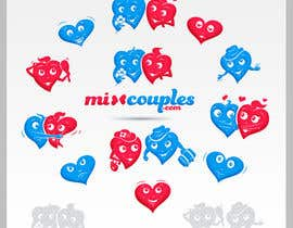#711 для Logo Design for mixcouples.com от totovas