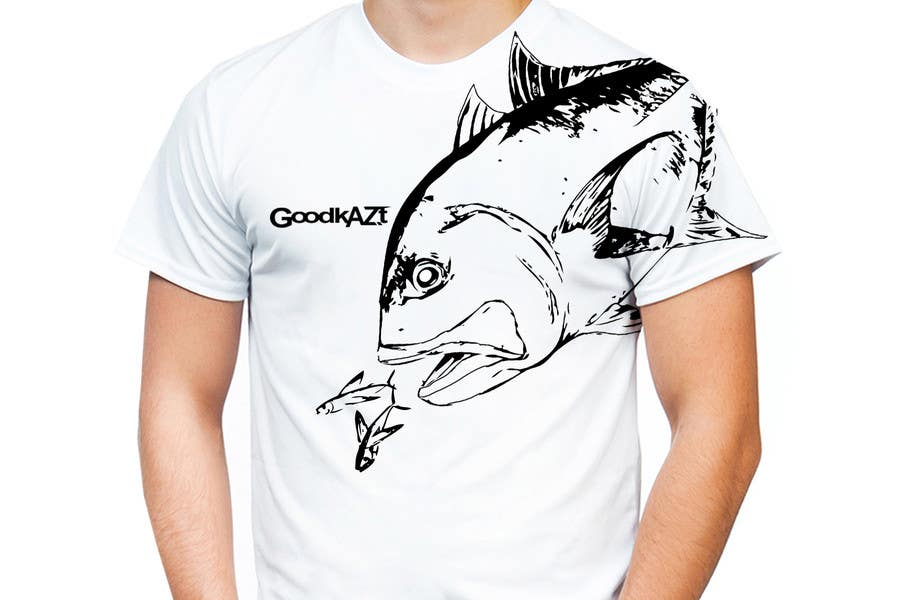 fish designs for t shirts