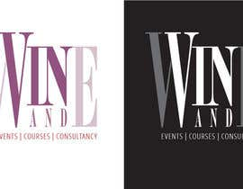#28 para Logo Design for Vin & Wine - events, courses & consultancy por designbykl