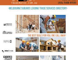 danielaandino tarafından Logo & Magazine Front Cover Design for tradiemates.com.au için no 3