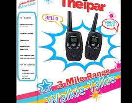 #1 for design a package for a walkie talkie for kids. by caprat