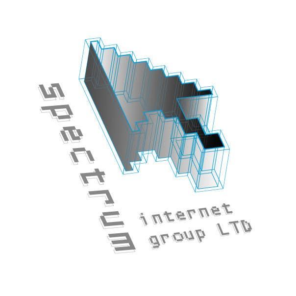 Penyertaan Peraduan #134 untuk Logo Design for Spectrum Internet Group LTD