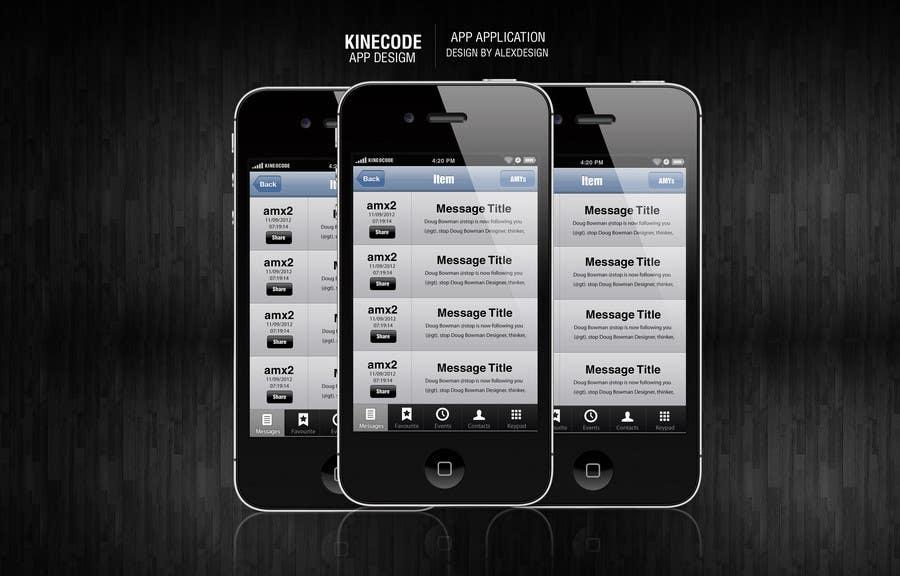 Inscrição nº                                         2                                      do Concurso para                                         App Design for KineoCode