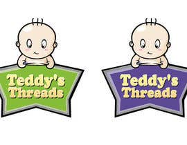 #65 para Logo Design for Teddy's Threads por marijoing