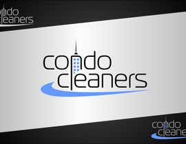 #150 para Logo Design for Condo Cleaners por dimitarstoykov