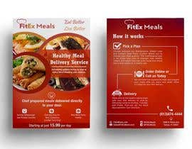 stylishwork tarafından Design a Flyer For FitEx Meals için no 4