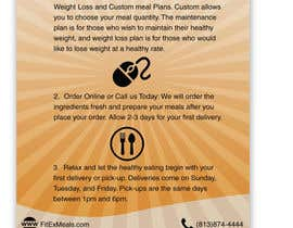 mohnishrathod tarafından Design a Flyer For FitEx Meals için no 20