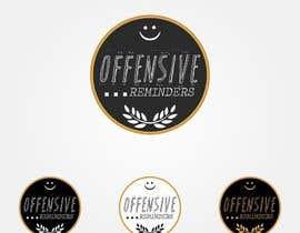 Garibaldi17 tarafından Design a Logo for Offesnsive Reminders için no 60