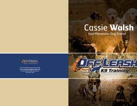 joybabo tarafından Design a Brochure for Off Leash K9 Training, Central MN -- 2 için no 4