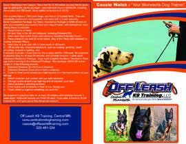 faizanabad tarafından Design a Brochure for Off Leash K9 Training, Central MN -- 2 için no 5