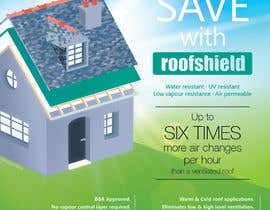#24 for Design an Advertisement for Roofshield 2014 by CBDesigns101
