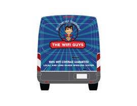grapkisdesigner tarafından In need of a vintage van wrap design for a wifi service company için no 17