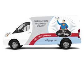 ArtCulturZ tarafından In need of a vintage van wrap design for a wifi service company için no 28
