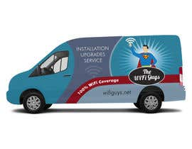 ArtCulturZ tarafından In need of a vintage van wrap design for a wifi service company için no 29