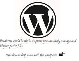 mD4work tarafından Whats should I use to upgrade my website WordPress,Joomla or Drupal için no 2