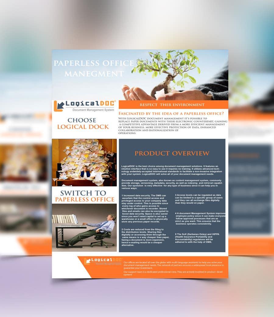 Konkurrenceindlæg #                                        14                                      for                                         A4 Brochure design for Marketing