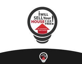#132 for Logo Design for I Will Sell Your House For Free by danumdata
