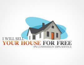 #95 for Logo Design for I Will Sell Your House For Free by babugmunna