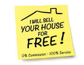 #98 for Logo Design for I Will Sell Your House For Free by Doremy